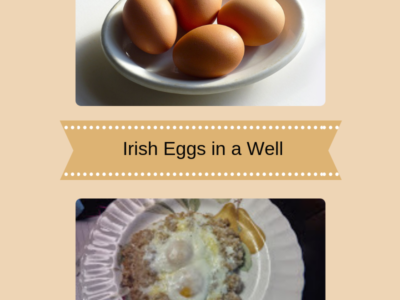 Experimental Food Ideas – Irish Eggs in a Well
