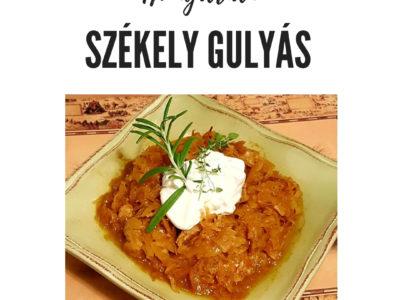 Hungarian Székely Gulyás