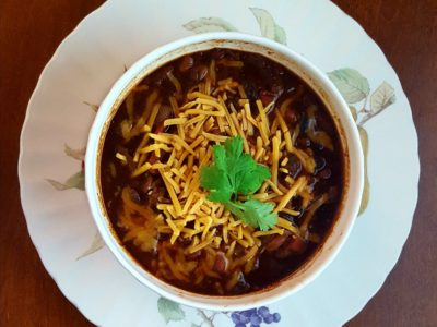 Turkey Chili that Tastes Like Beef